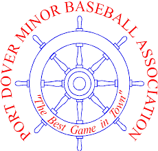 Logo for Port Dover Minor Baseball